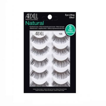 Ardell Natural Contain 5 Pairs Lashes - 105