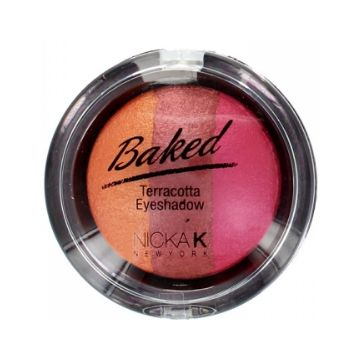 Nicka K Baked Terracotta Eyeshadow - NBE04 Sparkle Peach