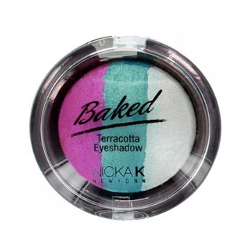 Nicka K Baked Terracotta Eyeshadow - NBE05 Sparkle Watermelon