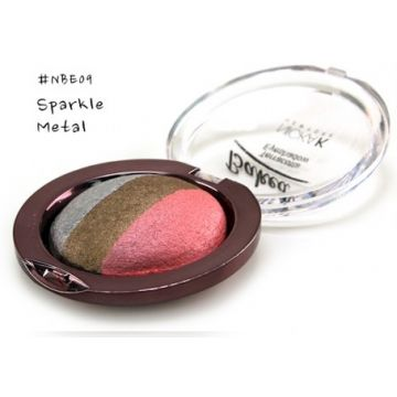 Nicka K Baked Terracotta Eyeshadow - NBE09 Sparkle Metal