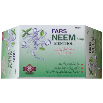 FARS Neem Soap + Manthol - 80gm