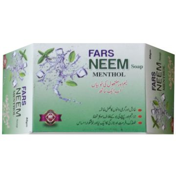 FARS Neem Soap + Manthol - 100gm