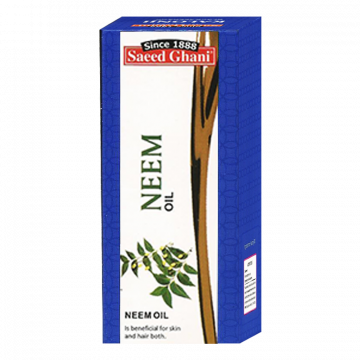 Saeed Ghani Neem Oil - 60ml - 8964000505298