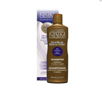 Nisim Newhair Biofactors Shampoo For Normal To Oily Hair - 240ml
