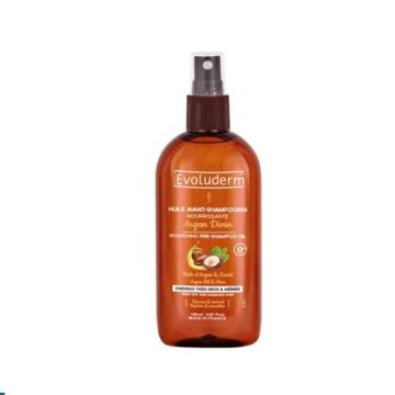 Evoluderm Pre Shampoo Oil Argan Divin - 150ml