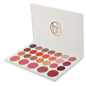 BH Cosmetics 26 Color Eyeshadow And Blush Palette - Nouveau Neutrals
