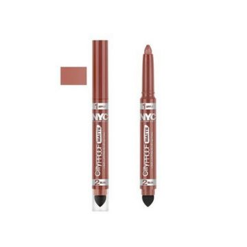 NYC City Proof Matte Blur Lip Color - Nude York Style - BB