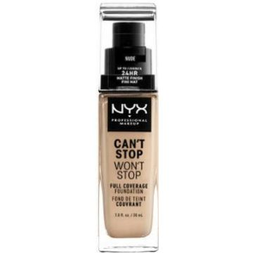 Nyx Can't Stop, Won't Stop Foundation - Nude