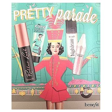 Benefit Pretty Parade Mini Set (Roller Lash, The Porefessional, High Beam, Gimme Brow)