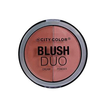 City Color Blush Cream & Powder Duo - Peachy Nude - BB
