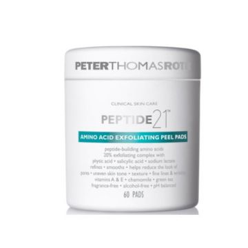 Peter Thomas Roth Peptide-21 Amino Acid Exfoliating Peel Pads - 60 Pads - 21-01-935