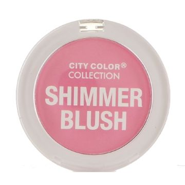 City Color Shimmer Blush - Pink  - BB - CCC0021-01