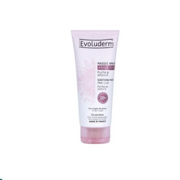 Evoluderm Soothing Mask Pink Clay - 100ml