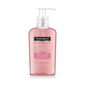 Neutrogena Facial Wash, Visibly Clear, Pink Grapefruit - 200ml