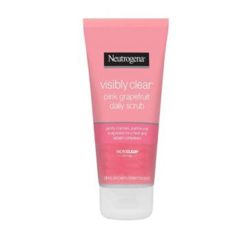Neutrogena Facial Scrub, Visibly Clear, Pink Grapefruit -150ml