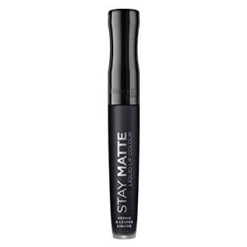 Rimmel London Stay Matte Liquid Lip Color - 840 Pitch Black