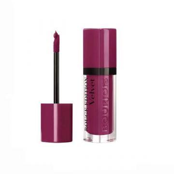 Bourjois Velvet Liquid Lipstick - T14 Plum Plum Girl - 3052503261416
