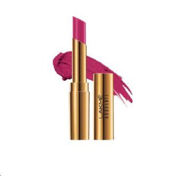 Lakme Absolute Argan Lip Color- Pink Satin - 8901030629075