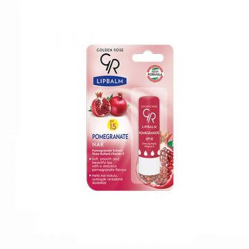 Golden Rose Lip Balm SPF 15 - Pomegranate