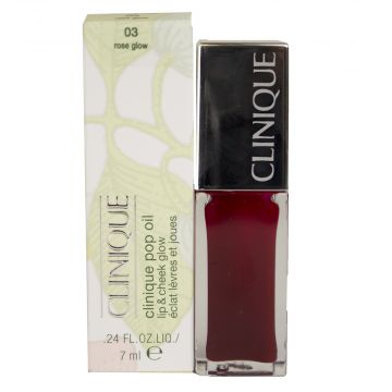 Clinique Pop Oil Lip & Cheek Glow - 03 Rose Glow It is exclusively available at just4girls.pk
