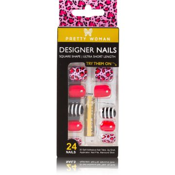 PRETTY WOMAN 24 DESIGNER NAIL KIT - PWJN1303