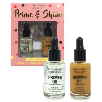 City Color Collection Prime & Shine Set - BB