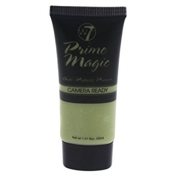 W7 Cosmetics Prime Magic Anti Redness Primer Camera Ready 30ml