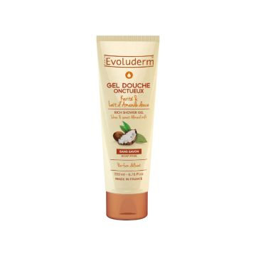 Evoluderm Sweet Almond Milk Shower Gel - 200ml