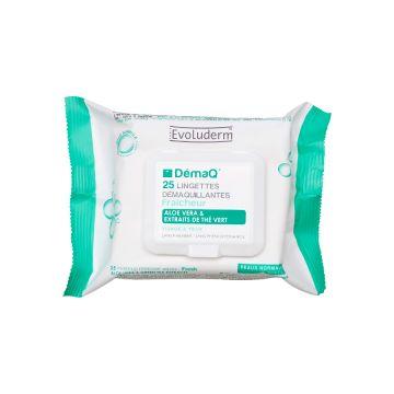 Evoluderm Make Up Remover Wipes Normal Skins - 25pcs