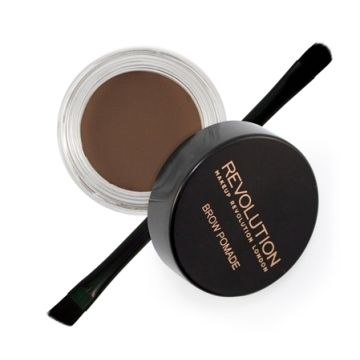 Makeup Revolution Brow Pomade - Dark Brown
