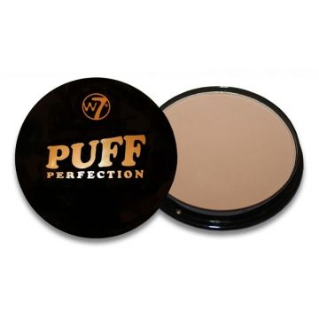 W7 Cosmetics Puff Perfection All In One Cream Powder Compact - Translucent