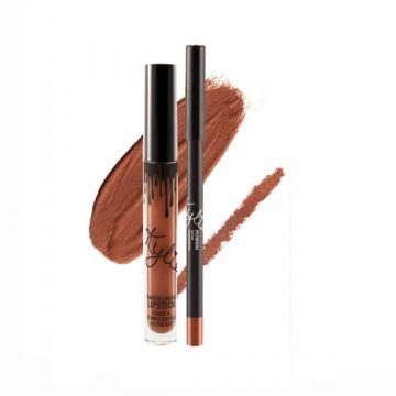 Kylie Matte Liquid Lipstick & Lip Liner - Pumpkin 14g - US