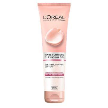 L'Oreal Paris Rare Flowers Cleansing Gel Dry/Sensitive Skin- 1082