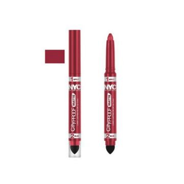 NYC City Proof Matte Blur Lip Color - Red High Line - BB