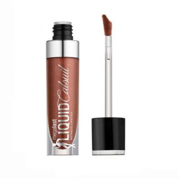 Wet N Wild MegaLast Liquid Catsuit Metallic Matte Lipstick - Ride On My Copper - (939A) (US)