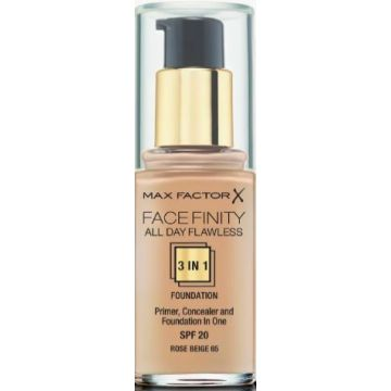 Max Factor Facefinity 3-IN-1 Foundation - Rose Beige - 65 - 5410076971633
