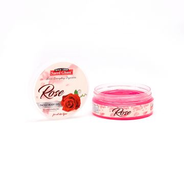 Saeed Ghani Rose Face & Body Gel - 180gm - 8964000505885