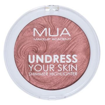 MUA Undress Your Skin Highlighting Powder - Rosewood Glimmer
