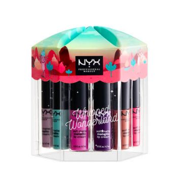 NYX Whipped Wonderland Lip Snacks - Metallic Lip Cream (SMMLCSET01) - MB