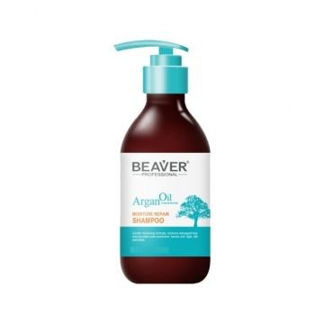 Beaver Argan Oil Moisture Repair Shampoo  - 500ml