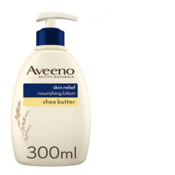 Aveeno Body Lotion Skin Relief Nourishing Shea Butter - 300ml - 3574660536737