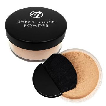 W7 Cosmetics  Sheer Loose Powder - Biscuit