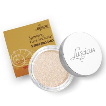 Luscious Sparkling Face Shimmer - Shimering Sand