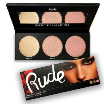 Rude Cosmetics Highlighting Shimmer Trio - 65540