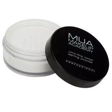 MUA Professional Loose Setting Powder - Invisible Silk