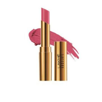 Lakme Absolute Argan Lip Color- Silky Blush - 8901030628924