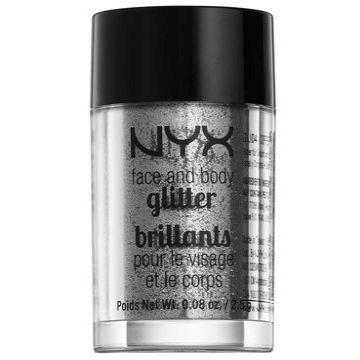 NYX Face And Body Glitters Brillants - GLI10 Silver