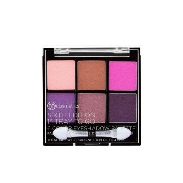 BH Cosmetics Sixth Edition 1st Tray To Go 6 Color Eyeshadow Palette