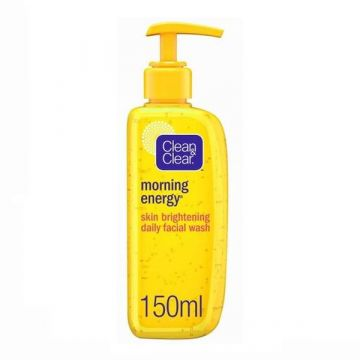 Clean & Clear Facial Wash Morning Energy, Skin Brightening - 150ml - 3574660682335