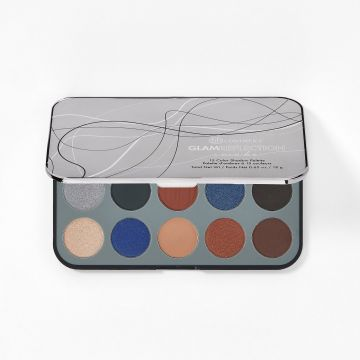 BH Cosmetics Glam Reflection Smoke 15 Color Shadow Palette